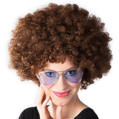 Afro Wig Brown - Carnival Store