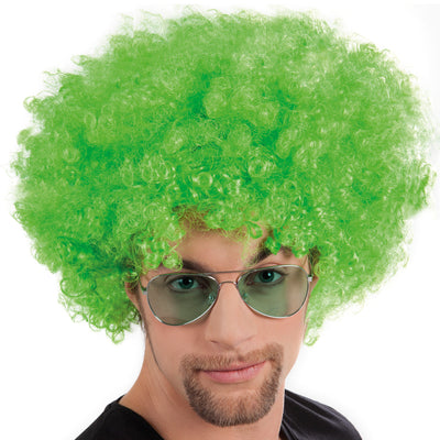 Afro Wig Green - Carnival Store