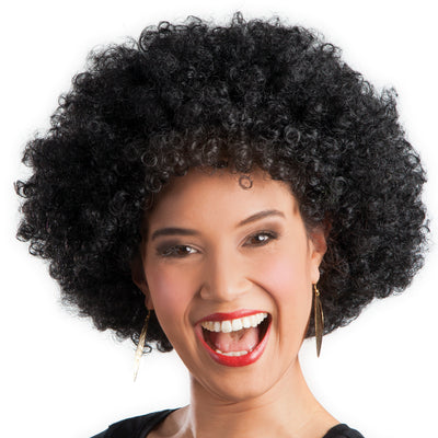 Afro Wig Black - Carnival Store