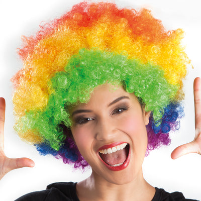 Afro Wig Multicoloured - Carnival Store
