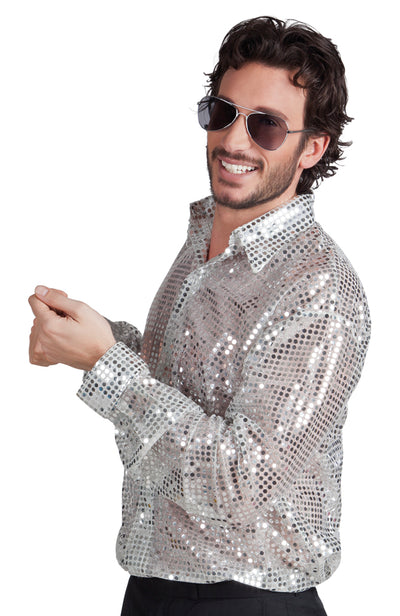 Disco Shirt Spangles - Carnival Store