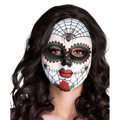 Face Mask Mrs Day of The Dead - Carnival Store