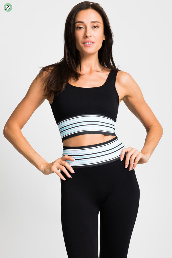 Banded Seamless Bra