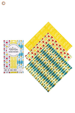 Beeswax Cheese Wraps 3PC