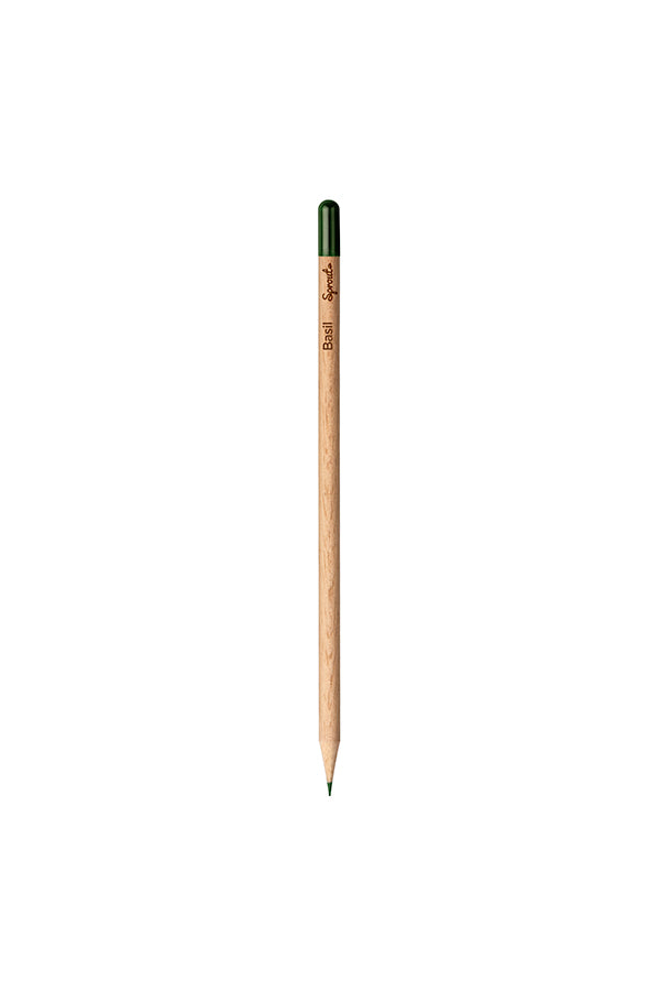 Customized Color Pencil - Basil