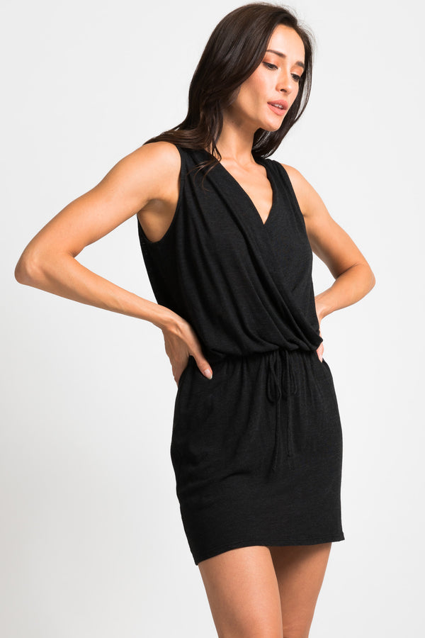 Surplice Mini Romper