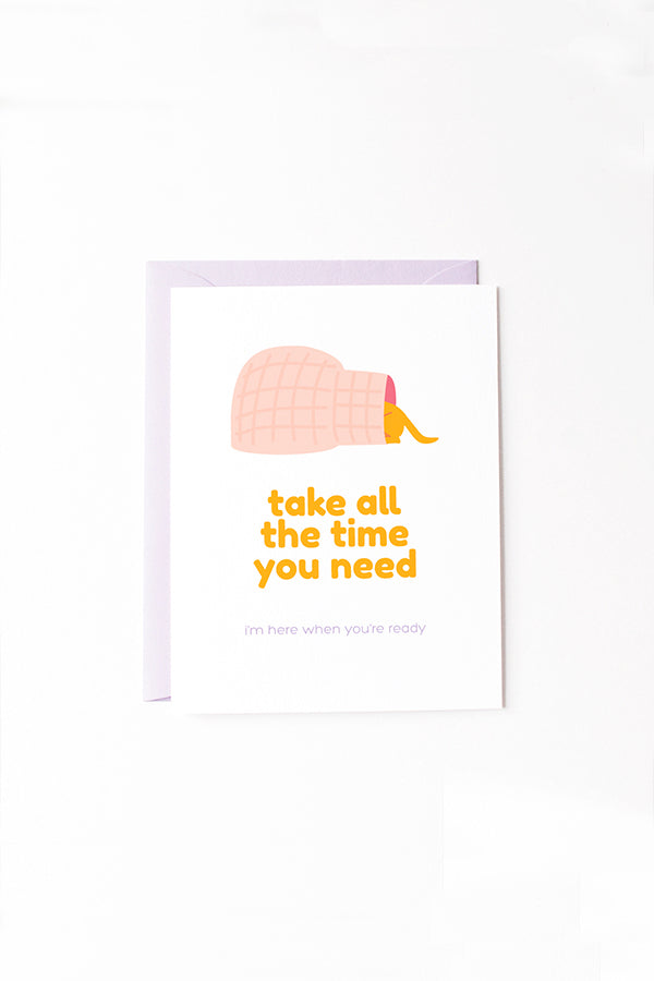 GET WELL SOON CARD—Take All the Time You Need Dogloo
