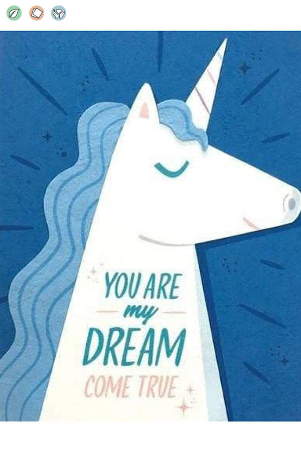 LOVE CARD—Unicorn Dream