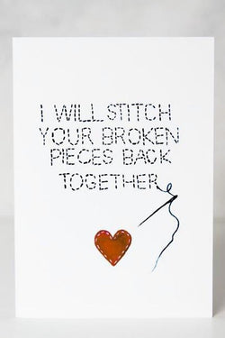 Love Card - Stitch Your Heart