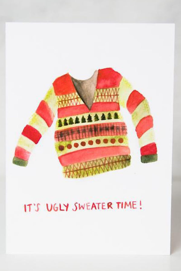 Christmas Card - Ugly Sweater