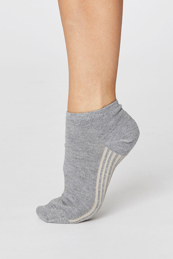 Solid Jane Ankle Socks