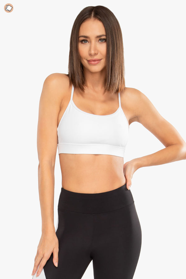 Slate Blackout Sports Bra