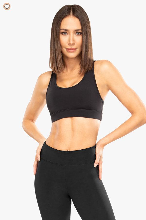 Evolve Blackout Sports Bra