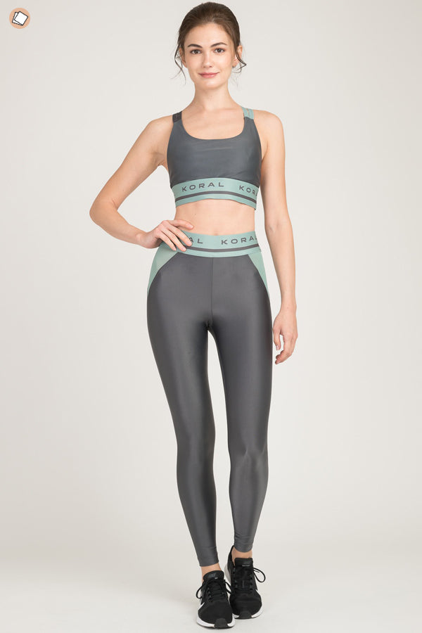 Highwaist Window Energy Logo Legging