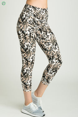 Open Highland Capri Legging
