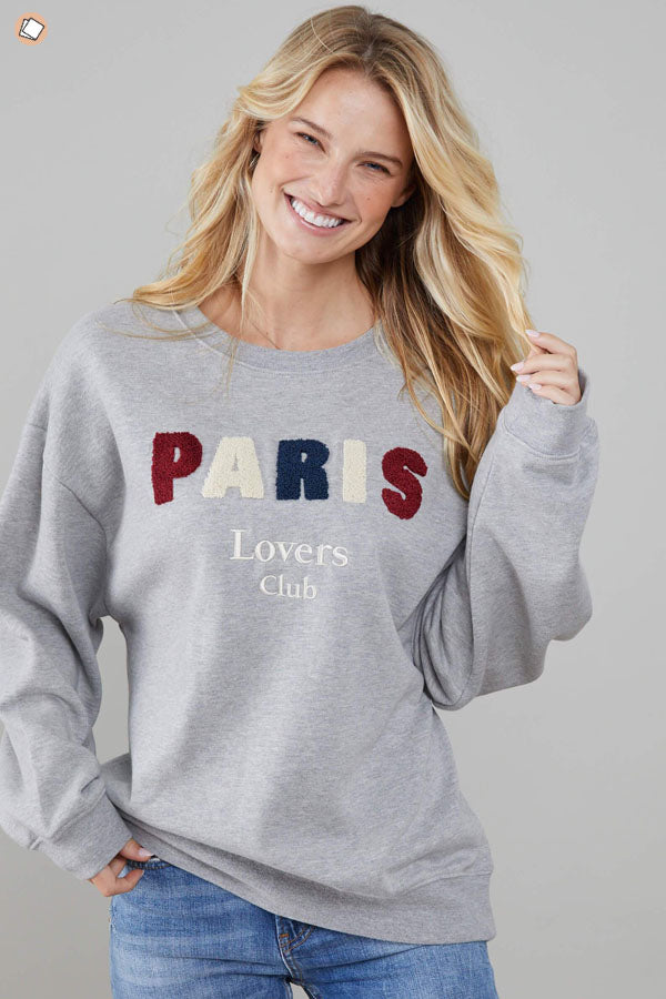 Paris Lover Club Sweater
