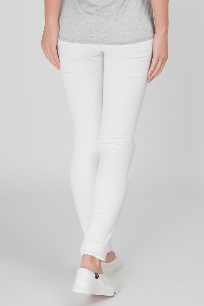 Bodycon Mid Rise Skinny Jeans