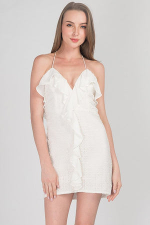 Calloway Ruffle Trim Dress