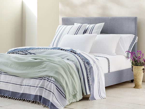 Sutro Stripe Coverlet Throw