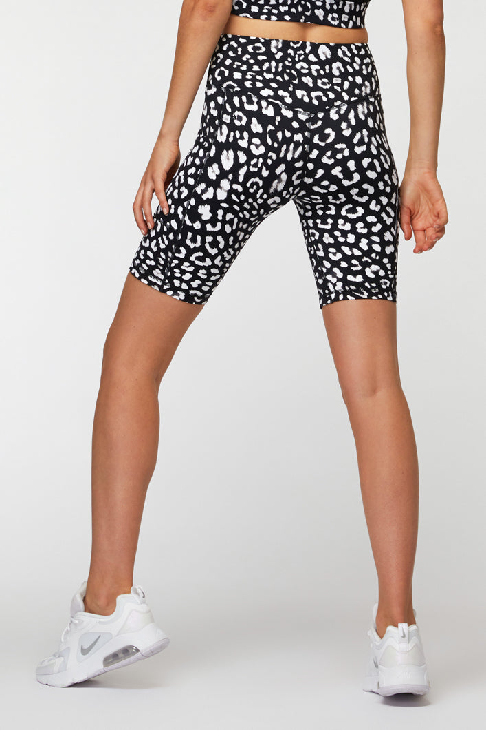 Sharp Contrast Bike Short
