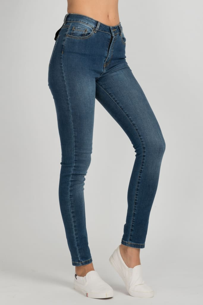 Midrise Wash Franky Jeans
