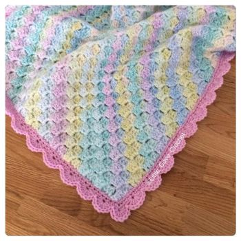 The Rainbow Drops Blanket