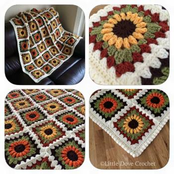 Sunflower Blanket