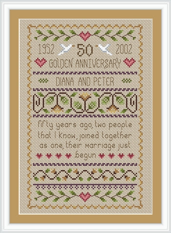 Wedding Anniversary Sampler
