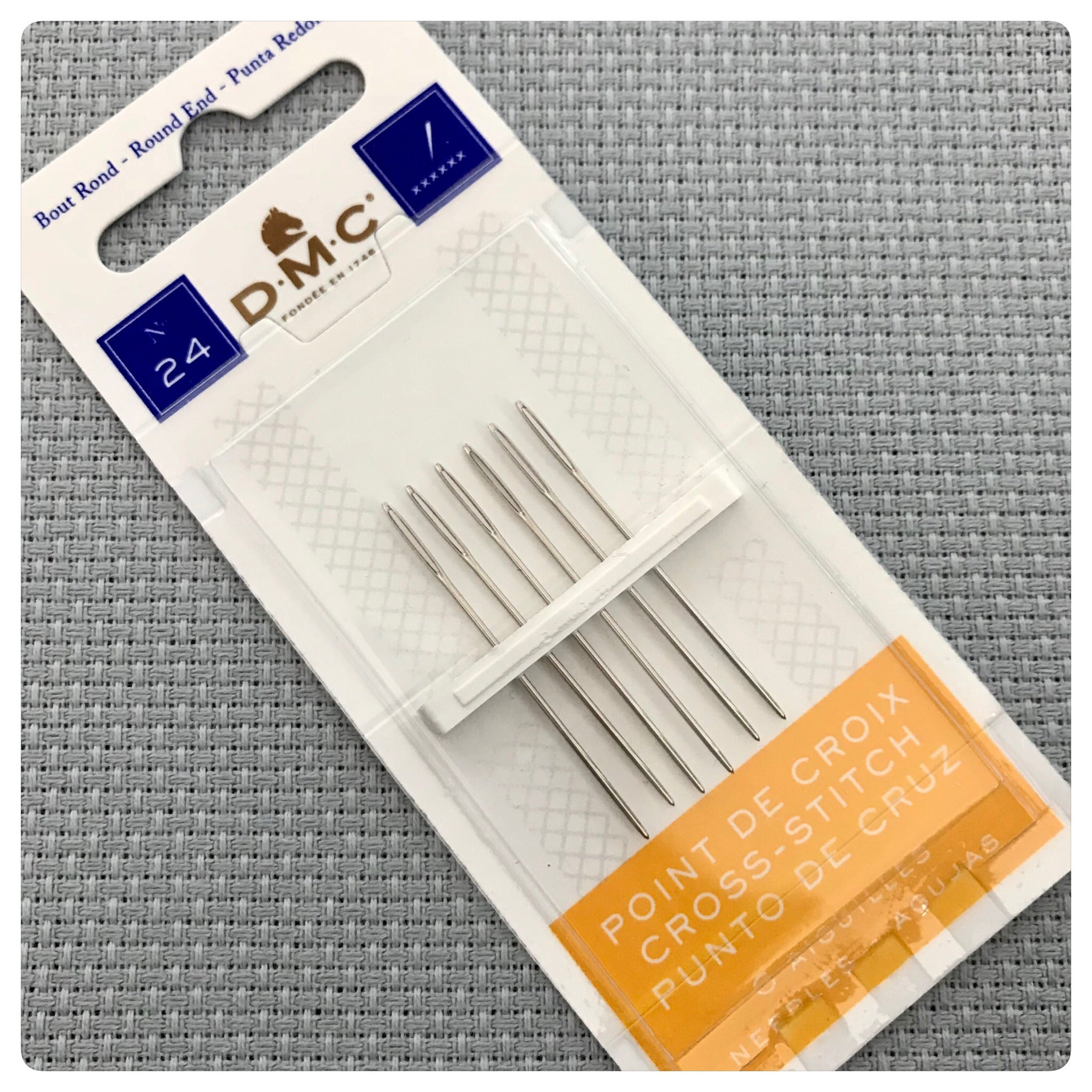 DMC Size 24 Cross Stitch Needles