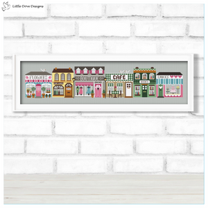 Little Dove High Street Mystery Stitchalong (CLOSED)