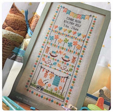 Load image into Gallery viewer, Baby Bunting Birth Sampler