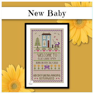 New Baby Birth Sampler