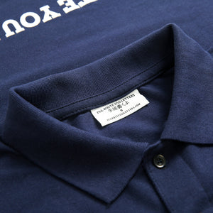 IWYL Navy Logo Polo