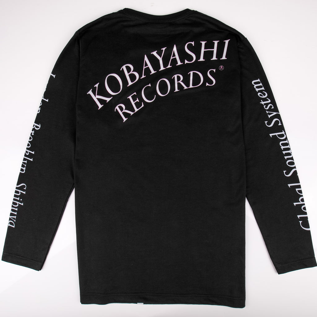 IWYL Kobayashi Records L/S in Black