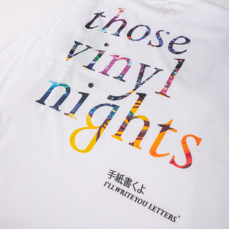 IWYL Kobayashi Records L/S in White