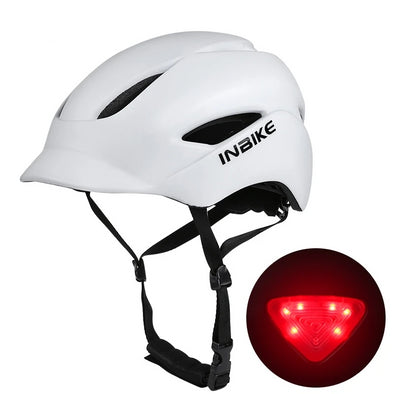 INBIKE City Helmet with Taillight