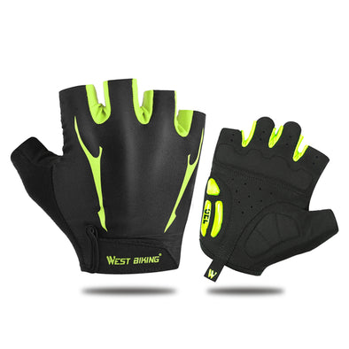 WEST BIKING Gel Padded Non-slip Cycling Gloves