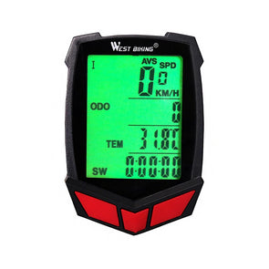 WEST BIKING 20 Functions Wireless Bike Computer Cycling Speedometer-Inbike Cycling