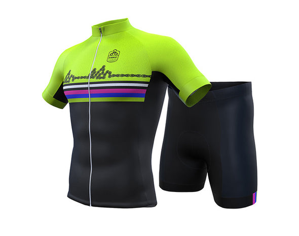 INBIKE Summer Breathable Gel Padded Cycling Jersey Short Sets-Inbike Cycling