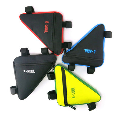 B-SOUL Waterproof Triangle Pouch Cycling Front Tube Frame Bag-Inbike Cycling