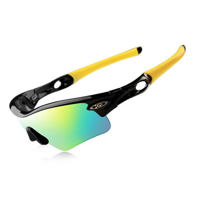 CoolChange Polarized Cycling Glasses Road Bike Sports Goggles-Inbike Cycling