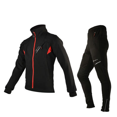 ROCKBROS Winter Fleece Cycling Sets