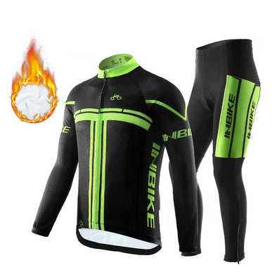 INBIKE Winter Thermal Fleece Cycling Set
