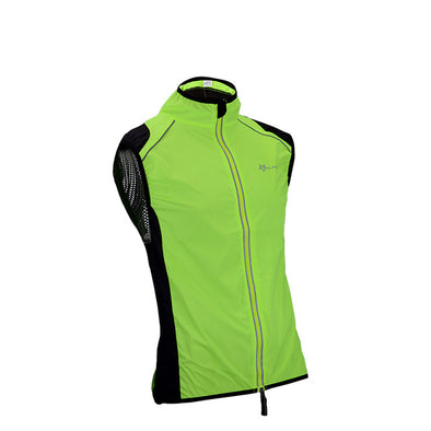 ROCKBROS Reflective Bicycle Men's Waistcoat Cycling Sleeveless Vest-Inbike Cycling