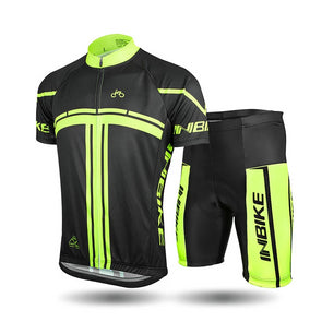 INBIKE Summer Short Sleeve Cycling Set