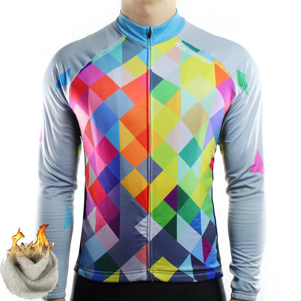 Pixel Thermal Fleece Jersey