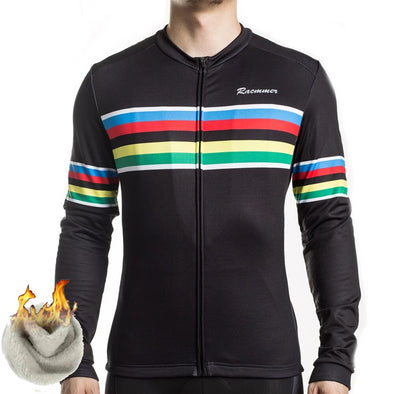 Nova Black Thermal Fleece Jersey