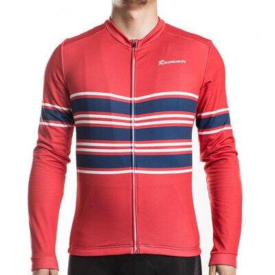 Elite Red Thermal Fleece Jersey