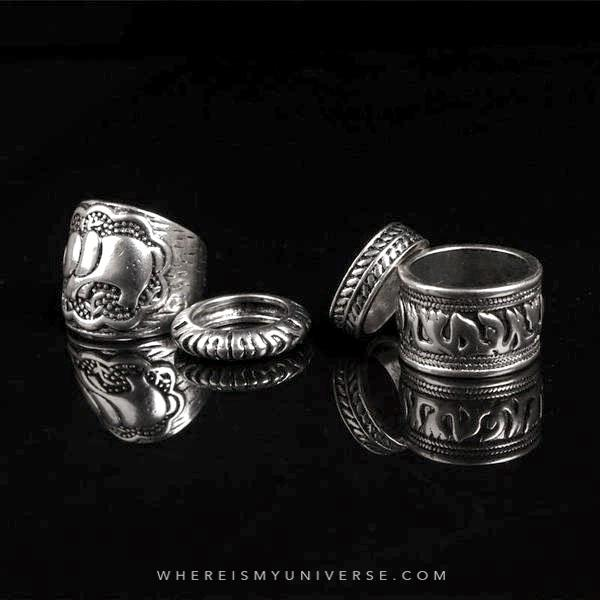 Elephant Magick Ring Set (Four Pieces)
