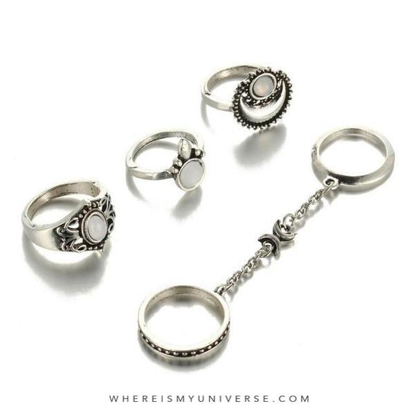 Moonlight Magick Ring Set